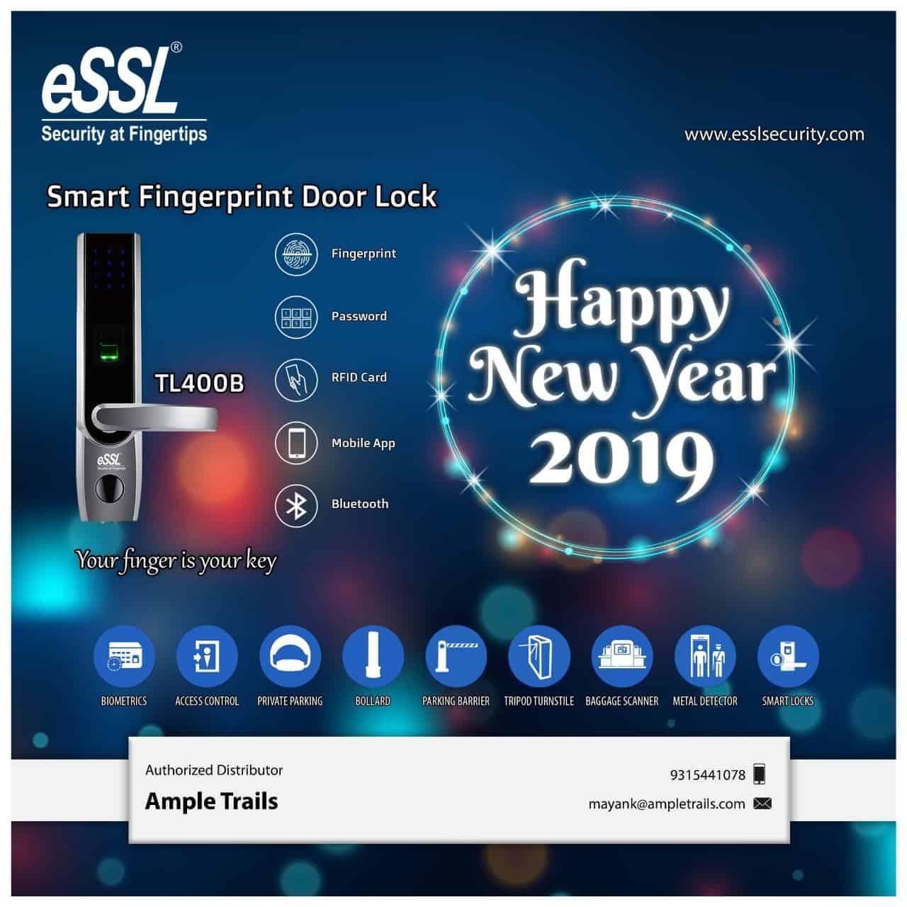 eSSL Fingerprint Digital Door Lock in Gurgaon, डिजिटल दरवाजा वाला लॉक