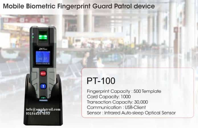 PT100 Guard Patrol Device