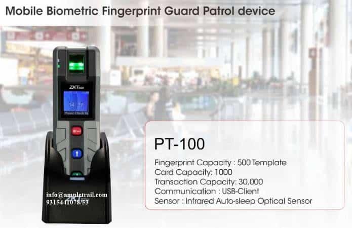 PT100 Guard Patrol Device