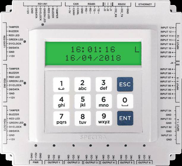 Two doors access controller