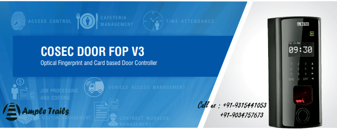 Matrix FOP Fingerprint Door Access Control System