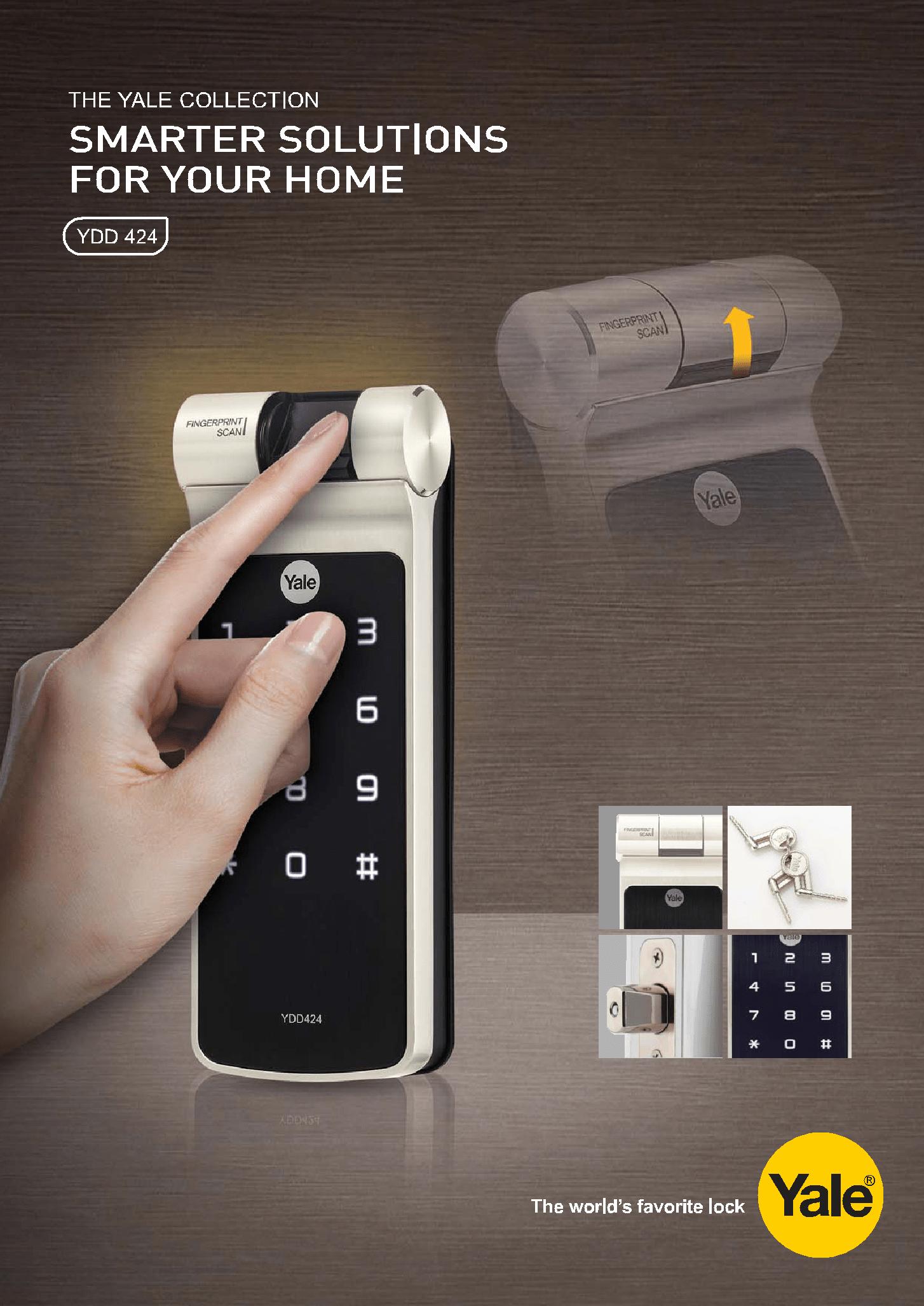 Yale Biometric PIN Code