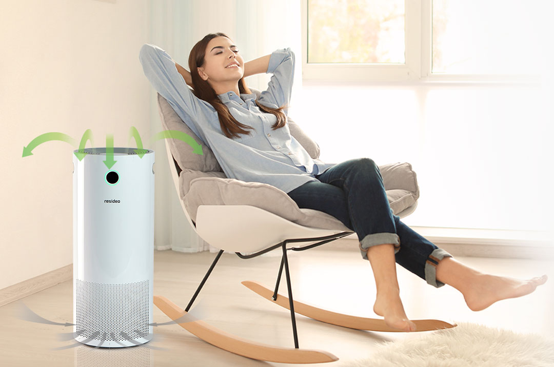 Smart Air Purifier for Home
