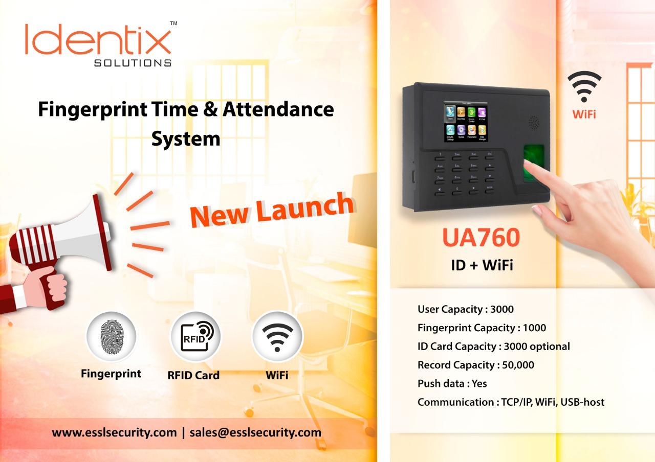 eSSL Identix Wifi UA760 ID
