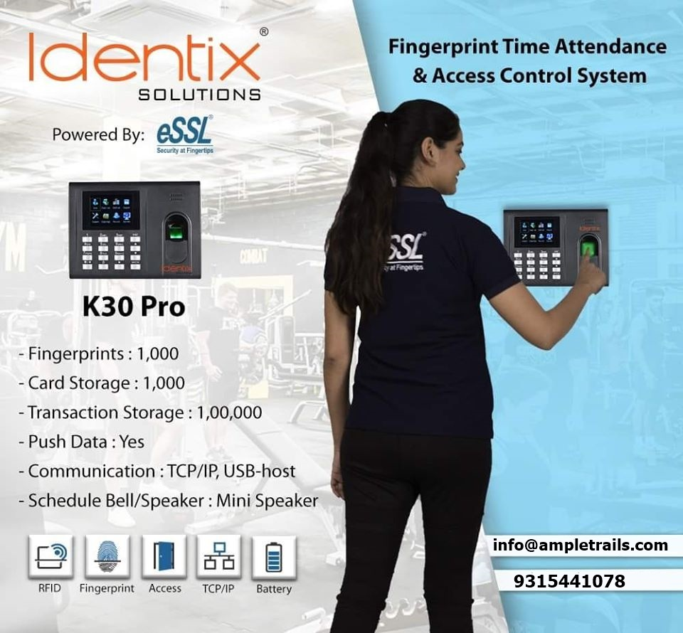 Best Biometric Machine eSSL K30