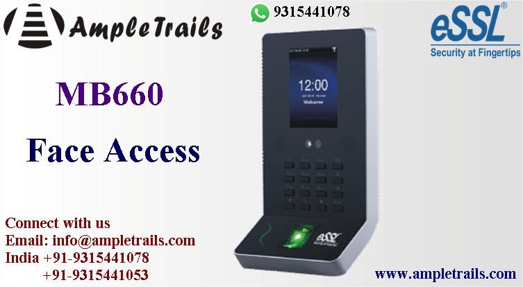 eSSL MB660 Face Fingerprint Attendance Machine
