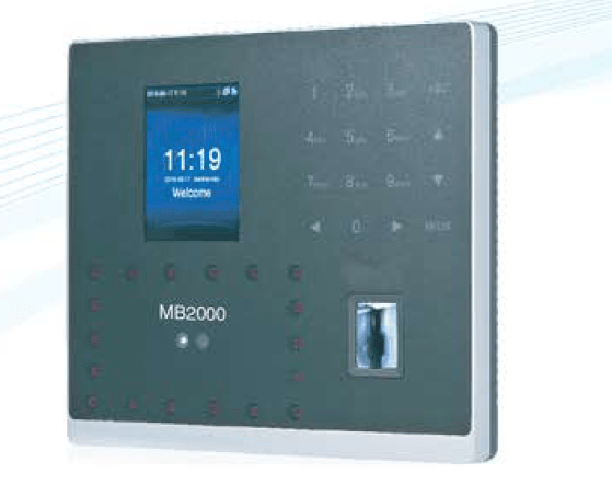 Features of eSSL MB2000 Face Fingerprint Time Attendance Machine
