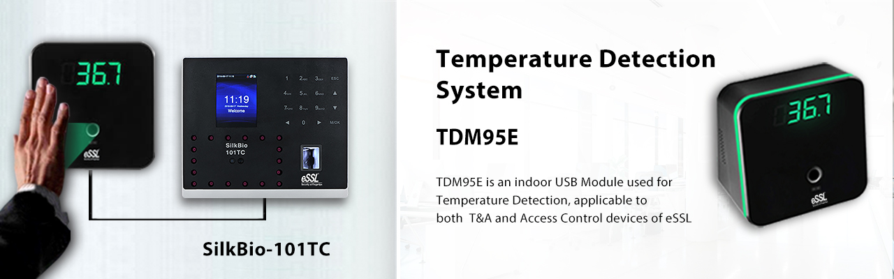 Face Recognition Temperature Scanner Silkbio with TDM95E