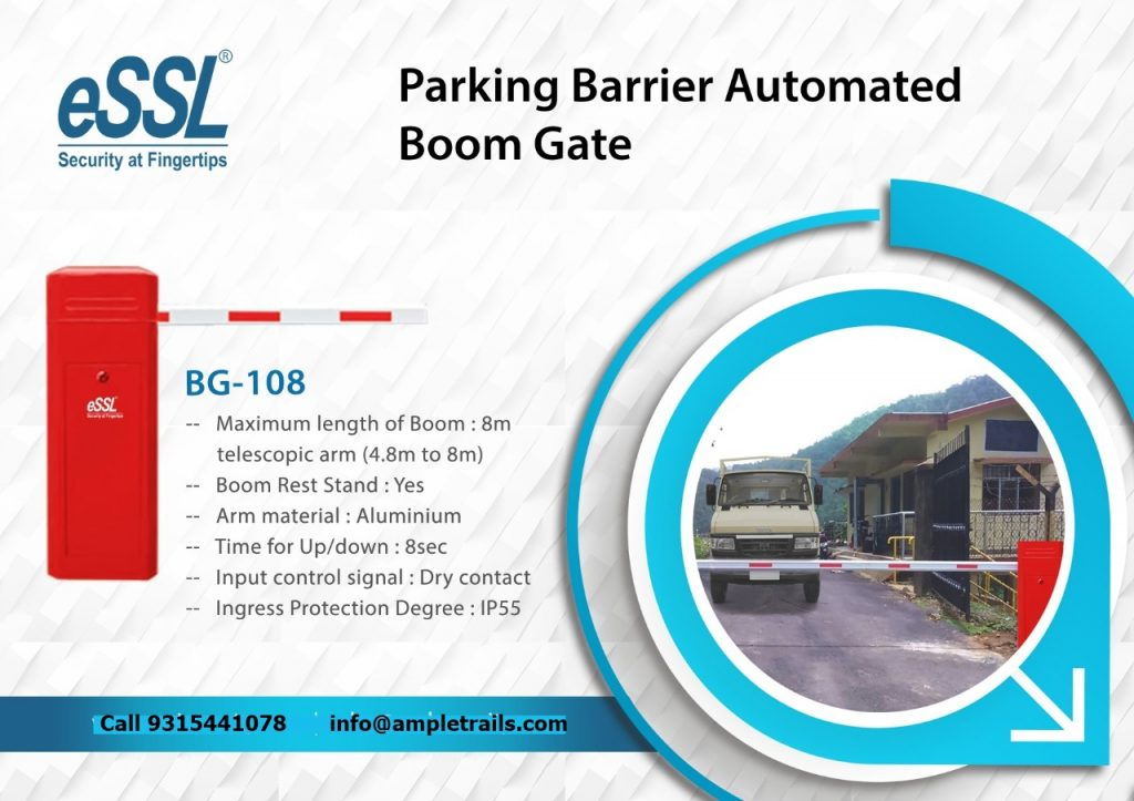 Parking Barrier Automated Boom Gates bg 108