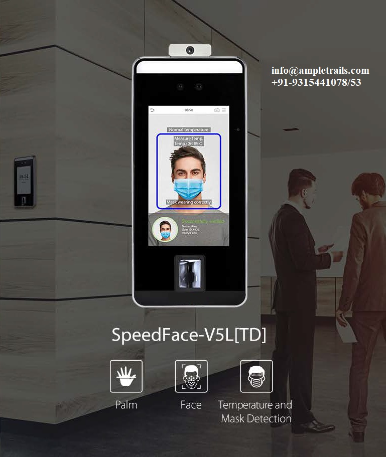 SpeedFace V5L Series Fever Detection