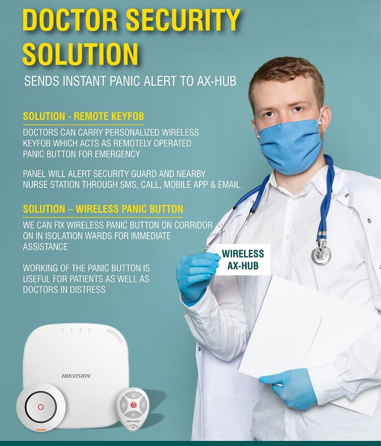 Hikvision Intrusion Alarm Solutions for Hospitals