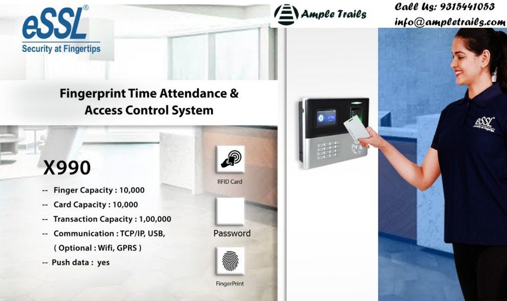 RFID based attendance system eSSL X990A