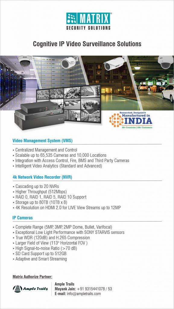 Matrix NVR IP Cameras Solution
