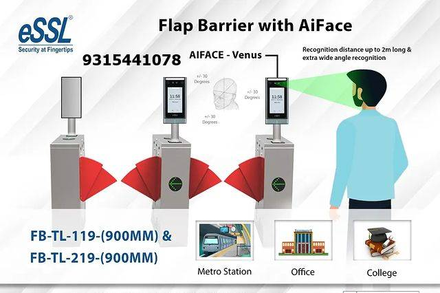 Flap Barrier eSSL with AIface