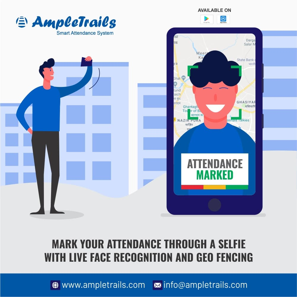 mobile based face recognition app for attendance and monitoring system
